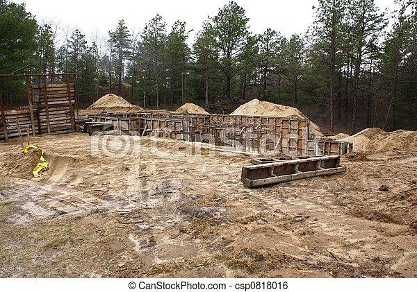 Nuevos cimientos. - csp0818016