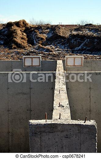 Foundation Wall - csp0678241