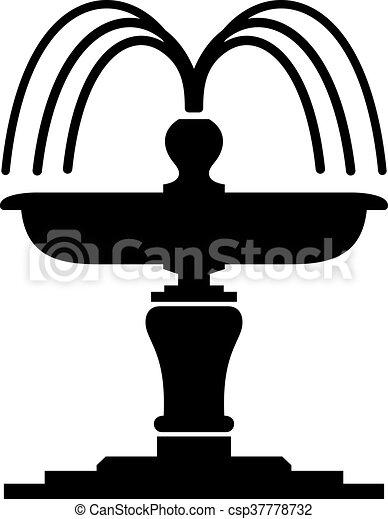 Fountain - csp37778732