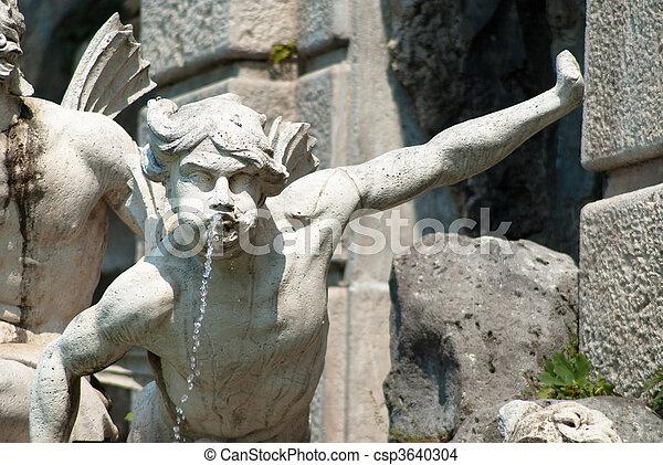 Fountain of Aeolus, Caserta - csp3640304