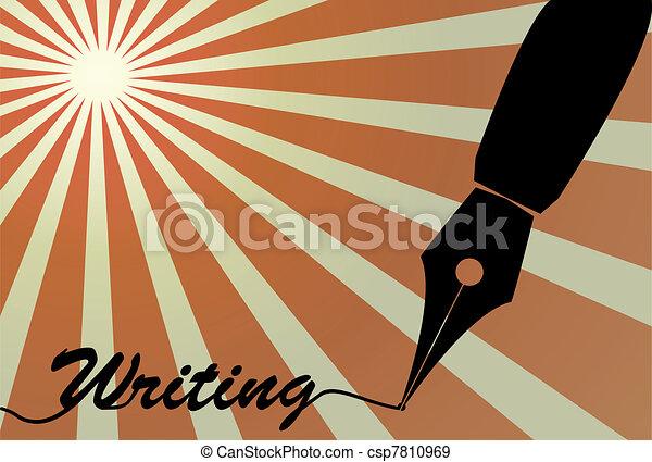 fountain pen nib - csp7810969