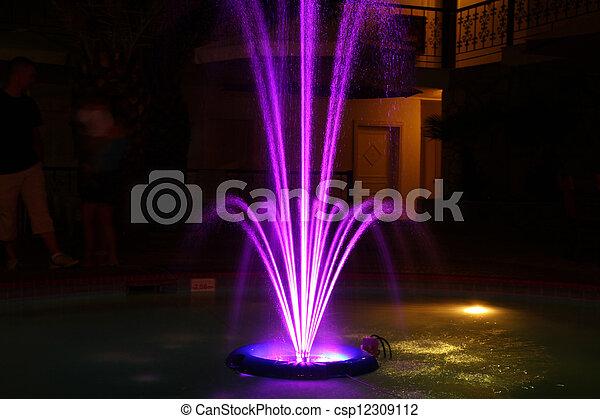 fountain - csp12309112