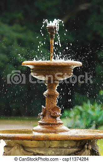 Fountain - csp11374284