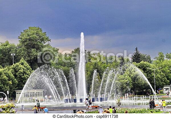 fountain - csp6911738