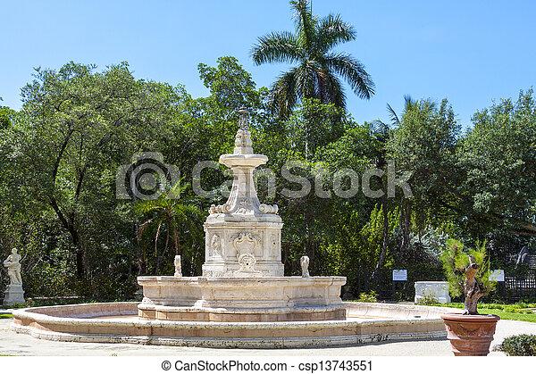 Fountain - csp13743551