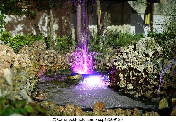 fountain - csp12309120