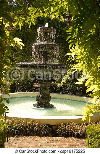 fountain - csp16175225
