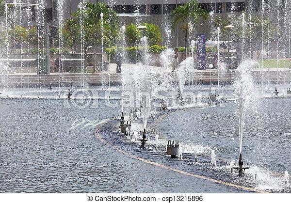 fountain - csp13215896