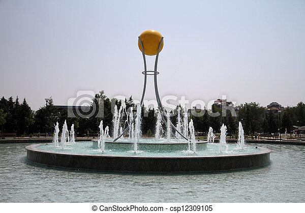 fountain - csp12309105