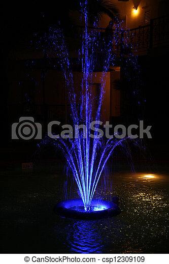 fountain - csp12309109