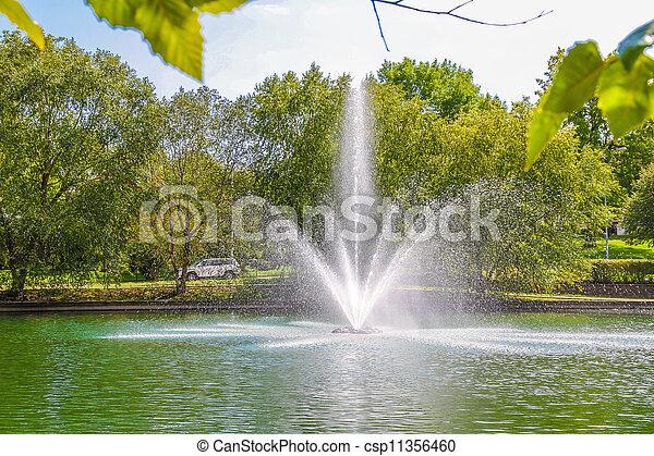 fountains - csp11356460
