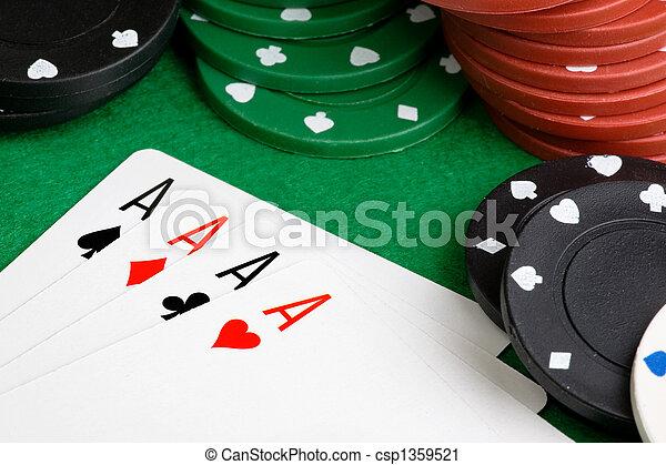 Four Aces - csp1359521