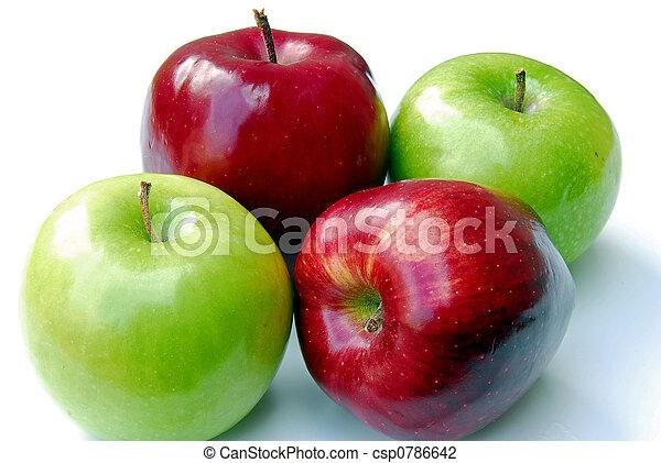 Four Apples - csp0786642