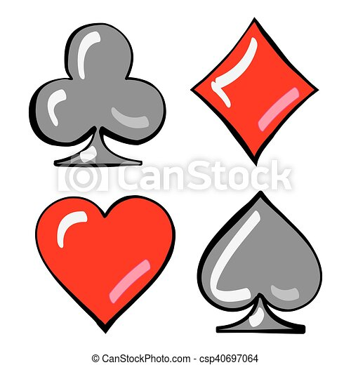 four card suits cards deck cards deck four card suits clip art rh canstockphoto com deck of cards clipart free deck of playing cards clipart