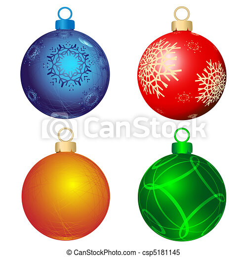 Christmas Ornaments To Color