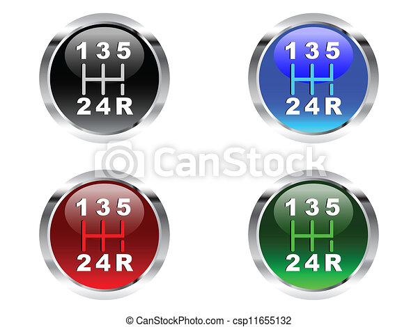 Four lever speed  - csp11655132