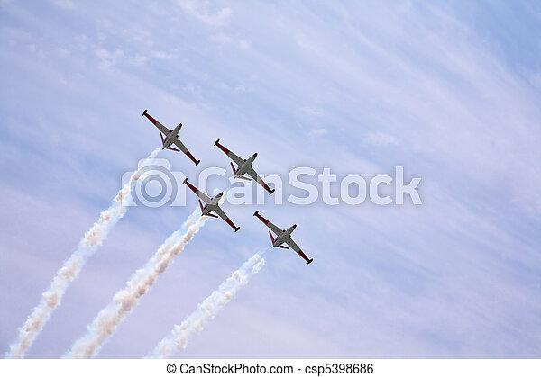 Four magnificent planes - csp5398686