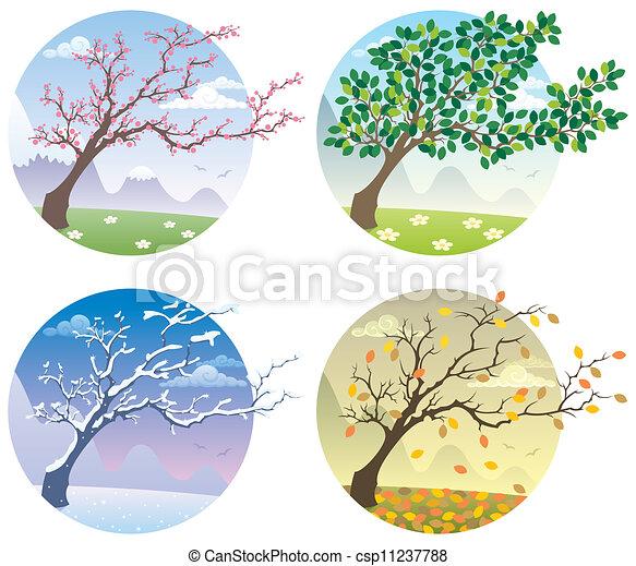 Four Seasons - csp11237788