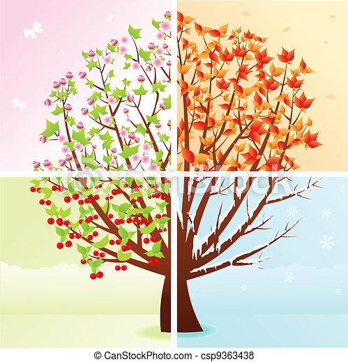 Four Seasons - csp9363438