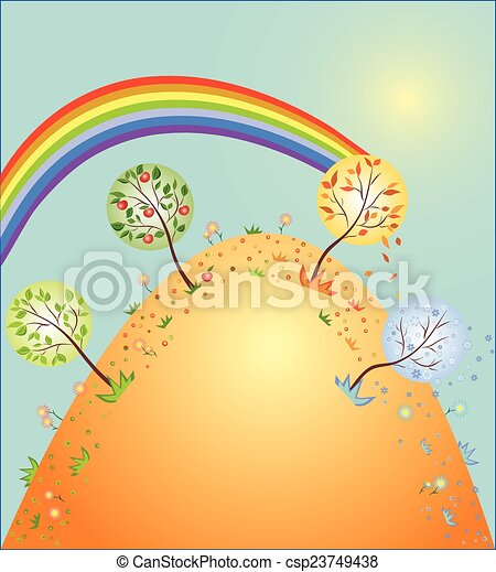 Four seasons  - csp23749438