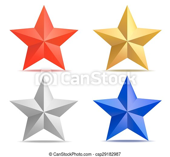 Clipart Stars Vector - 4 Point Star Vector - Free Transparent PNG Download  - PNGkey