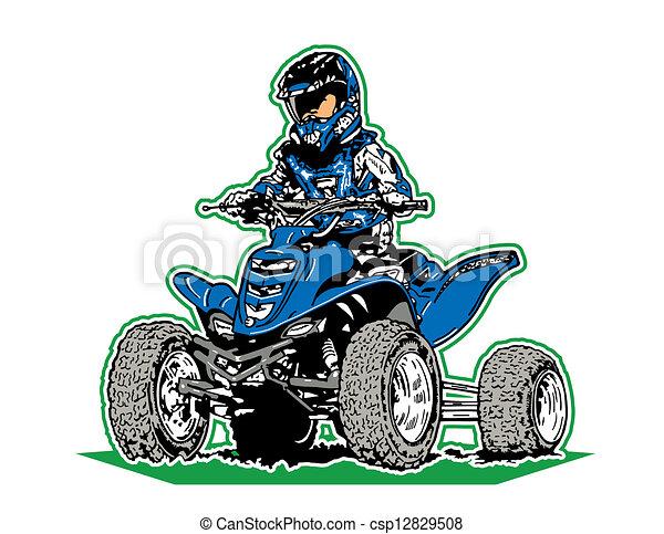 four wheeler - csp12829508