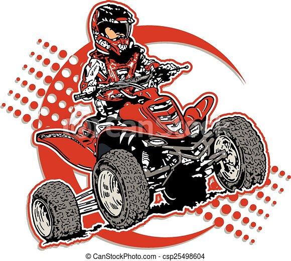 four wheeler - csp25498604
