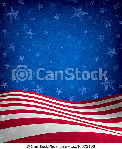 Fourth Of July Background - csp10029100