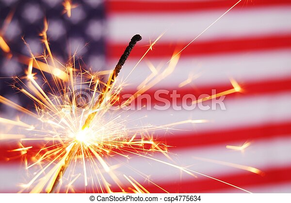 fourth of july - csp4775634