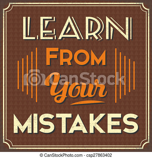Fouten Jouw Leren Stijl Poster Leven Advicelearn