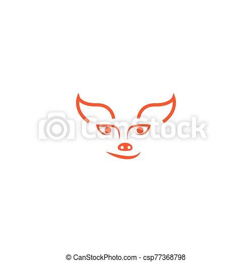 Fox logo - csp77368798