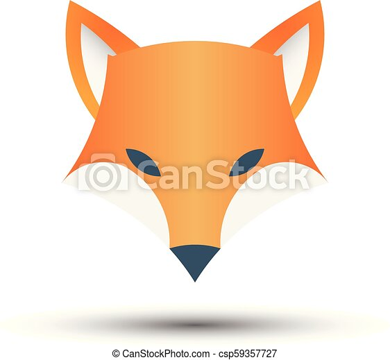 Fox logo, - csp59357727