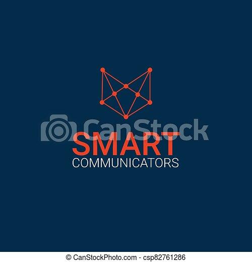 fox logo template - csp82761286