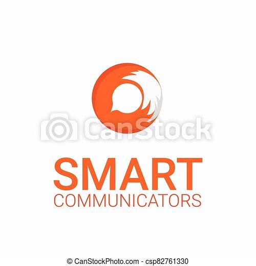 fox logo template - csp82761330