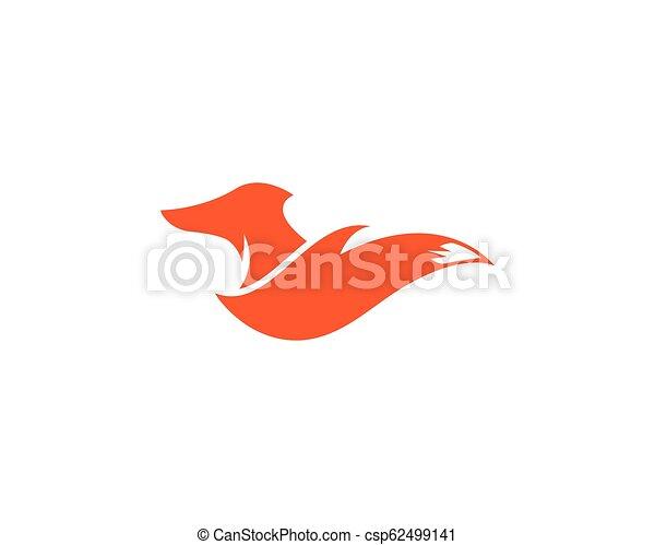 Fox logo vector - csp62499141
