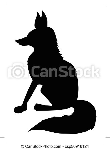 fox, side view - csp50918124