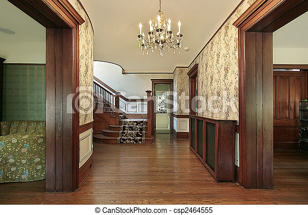 dom foyer drewno boazeria starszy obrazy stockowe wyszukaj stockowe zdj cia fotografie i. Black Bedroom Furniture Sets. Home Design Ideas