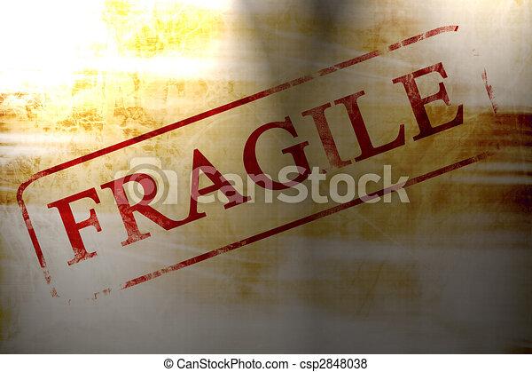 frágil - csp2848038