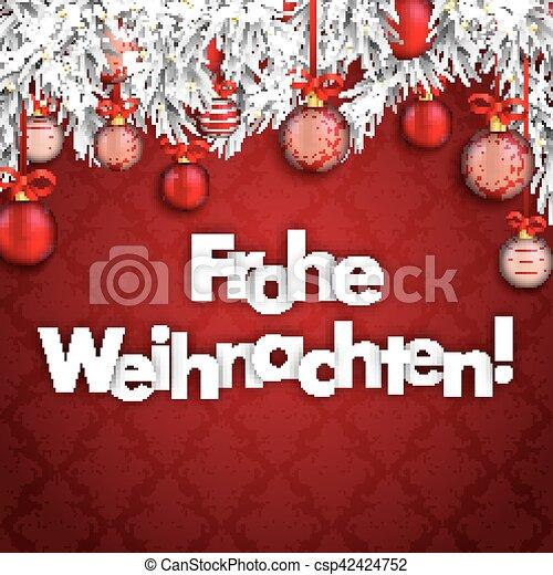 übersetzer Frohe Weihnachten.Fröhlich Zweige Frohe Verzierungen Weihnachten Weihnachtsbaubles