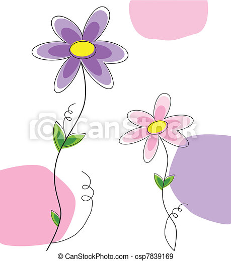 frühjahrsblumen - csp7839169