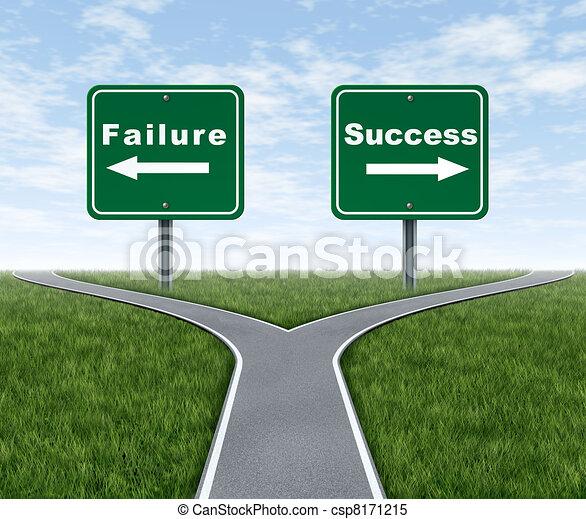 Éxito y fracaso - csp8171215