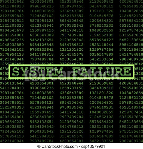 fracasso, sistema - csp13579921