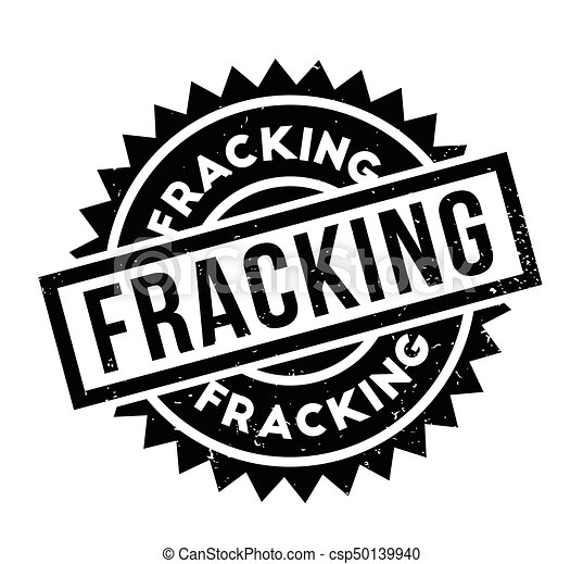 Fracking rubber stamp - csp50139940