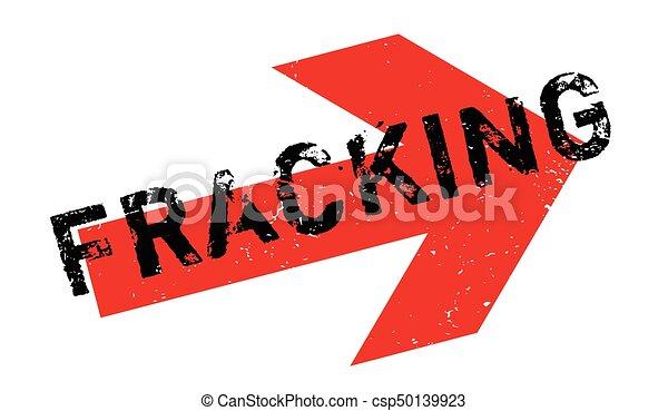 Fracking rubber stamp - csp50139923