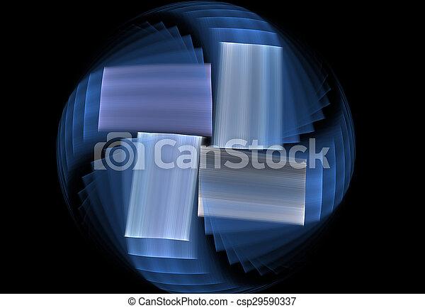 fractal circle - csp29590337