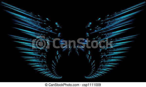 fractal, vleugels - csp1111009