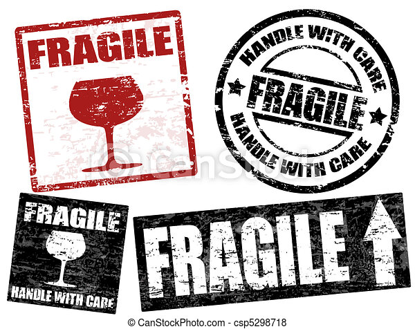 Fragile stamps - csp5298718