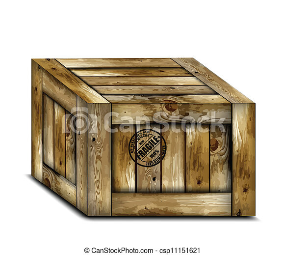 wooden box clipart. fragile wooden box with stamp vector csp11151621 clipart n