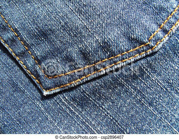 Fragment blue jeans - csp2896407