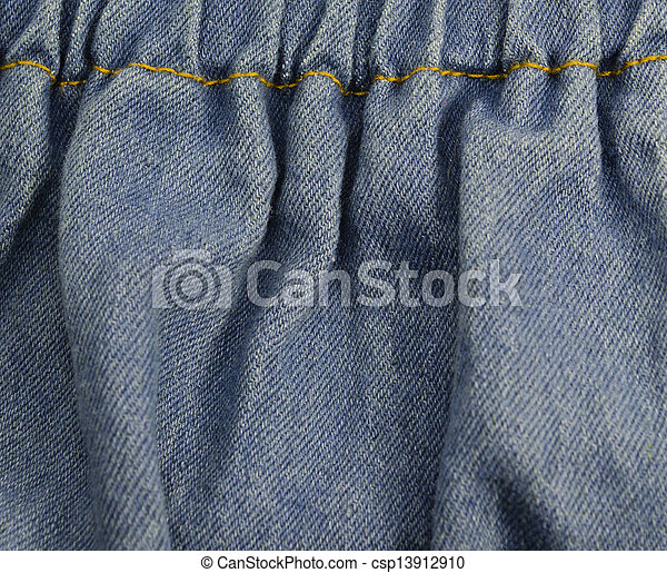 Fragment of jeans - csp13912910